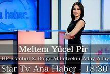 CHP İstanbul 2. Bölge A.Adayı, Meltem Yücel Pir / Bu akşam, Star TV Ana Haber'de, Saat 18:30'da, Türkiye ve Seçim Gündemini Değerlendireceğim.  CHP İstanbul 2. Bölge A.Adayı, Meltem Yücel Pir  www.meltemyucelpir.com #meltemyucelpir #chp #chpistanbul