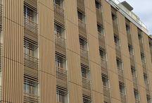Rivestimenti Legno Composito WPC / Rivestimento Hotel Porta Volta Milano
