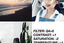 filtros favoritos