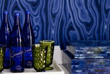 Living With Color: Blue / Gorgeous interior designs in the color blue.