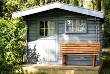 Get The Look | Outdoor Storage / Keep seeing all those beautiful sheds and workshops? Want to know how to create the look in your own home?  Find out how to recreate the look, using tools and supplies from a local builders merchant.