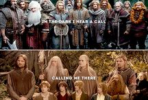 Lord of the Rings and The Hobbit