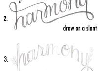Lettering - Drawing