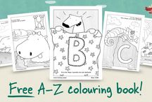Alphabet / Reading activities / Learning the alphabet and activities, strategies and books to support learning to read.