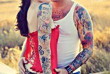 Rockabilly Style / Fashion Hair Style Tattoo
