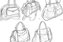 bag sketches / how to draw design sketches