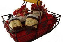 Paniers gourmands / Des paniers gourmands alsaciens, paniers garnis, idées cadeaux, gastronomie Alsacienne