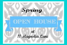 Spring Open House Tour at 11 Magnolia Lane / Features from all the Open Homes on our Spring Home Tour.