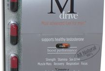 MDrive For Men / Get back your strength, stamina and sex drive, without hormones or steroids. Mdrive is formulated for men. It contains potent herb and mushroom extracts that support healthy testosterone, sustainable energy, regained strength and increased vitality.