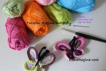Uncinetto: Farfalle