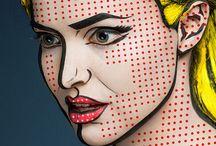 pop art make up