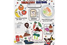 healthy / ideas. posters for encouraging healthy eating