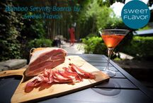 Bamboo serving boards / Bamboo serving board - sweetflavorfl.com