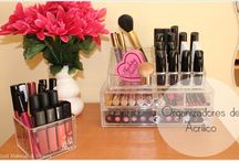 Makeup Organization | Makeup Room