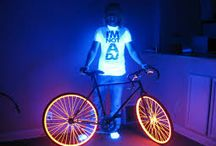 Fluo bikes / a couple of things i love
