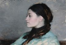 Jeremy Lipking (fav. artist) / My favorite living artist, Jeremy Lipking. Breathtaking, inspirational, incredible feel of brush stroke. For me his artwork is between realism and imagination. The details he leaves out in his simplification of realism and the pattern of brush work creates movement that bring his art to life. I've never seen one in person but I believe it would make me tear!