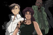 Black lagoon / Fuck.... I don't know why but I love this and the fandom and Revy she to awesome plus the voice actress is Nowacking!.