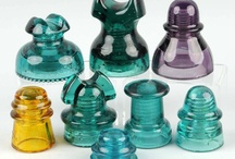 Antique glass Insulators all colors and sizes!!!!! / by Ken Tavani