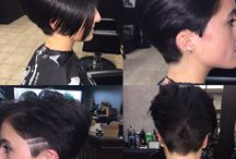 pixie cuts / uniform cuts