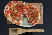 Lasagna with hazelnut pesto, eggplant and portabella mushrooms