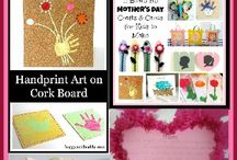 MOTHER'S DAY / Cards, crafts  and more