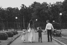 Семейная фотосессия на улице