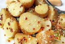Alimentos y bebidas / Ensalada de papas con mostaza