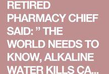 Alkaline drink