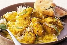Indian inspired dishes