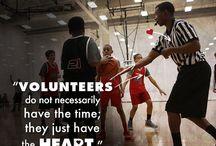 Volunteering / Each year over 1.25 million people volunteer for an Upward Sports program across the U.S. Thank you!