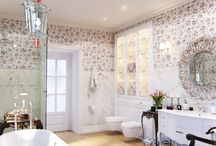 Modern Classic Bathroom for junior girl / Fresh and soft classical bathroom for junior girl made by Cult of Design studio