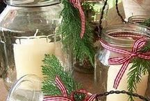Mason jars/Any glass Jars! / by Trina Wilkey Ball