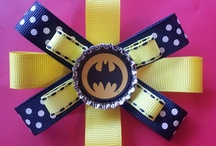 SuperHero Hairbows / by Nikki Stevens