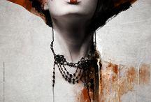 illustration peinture / by Mad B