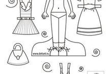 Postavy - oblékání