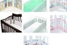 Breathable Baby Mesh Liner Cot Bumper