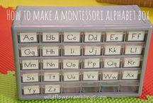 Montessori inšpirácie - jazyk