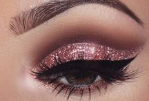 Pink eyeshadows