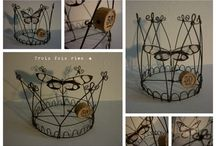 Metal working and wire crafts