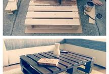 pallet coffe table