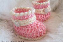 Crochet, booties
