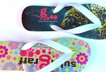 Customize your Flip Flops slippers! / Dye Sublimation on Flip Flops.