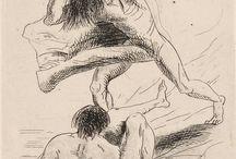 Odilon Redon (1840-1916) / b. Bordeaux, 1840.