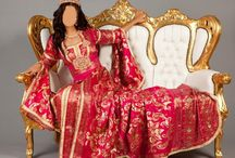 Moroccan Sweet Bride / Moroccan Caftans (Event Dresses) all the new collections Special for Bride to have a wonderful look at the Wedding Party!