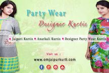 DESIGNER PARTYWEAR KURTIS / Style is a way to say who you are without having to speak...