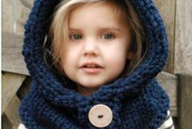 cappelli e colli per bambini