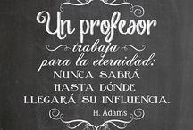 Frases profesor