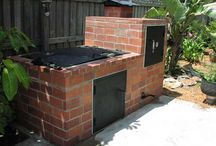 Outdoor bbq / Inspiration for the bbq-place.