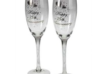 Personalised Champagne flutes / Our range of personalised champagne flutes is available here: http://www.giftsonline4u.com/personalised-champagne-flutes.htm