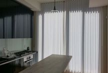 Motorized Draperies Project at Manhattan,NY / Motorized Sheer drapes  Color:  Jankosky-F White